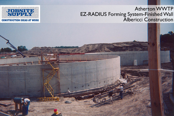 Ez Radius Concrete Forming Systems For Tank Forming And