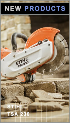 New Products - Stihl TSA 230